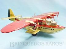 1. Brinquedos antigos - J.M.L. Jouet Magnim de Lyon - Hidroavião Latécoère 521 com 49,00 cm de envergadura Motor impulsiona as rodas de borracha Ano 1935