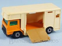 Brinquedos Antigos - Matchbox - Horse Box Superfast bege