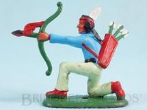 1. Brinquedos antigos - Casablanca e Gulliver - Índio ajoelhado atirando com arco Ano 1986