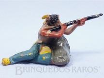 Brinquedos Antigos - Casablanca e Gulliver - �ndio atirando atr�s da pedra Casablanca Numerado 109 D�cada de 1960