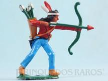 Brinquedos Antigos - Casablanca e Gulliver - �ndio de p� atirando com arco Ano 1986