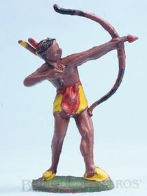 Brinquedos Antigos - Casablanca e Gulliver - Índio de pé atirando com arco e flecha Casablanca Década de 1960