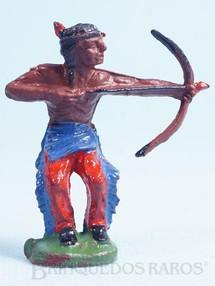 1. Brinquedos antigos - Casablanca e Gulliver - Índio de pé atirando com arco e flecha Década de 1960