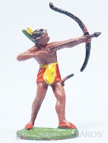 Brinquedos Antigos - Casablanca e Gulliver - �ndio de p� atirando com arco e flecha Erro de F�brica arco incompleto