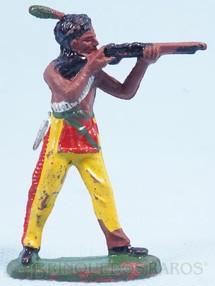 1. Brinquedos antigos - Casablanca e Gulliver - Índio de pé atirando com rifle