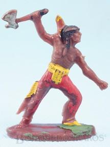 Brinquedos Antigos - Casablanca e Gulliver - �ndio de p� com machado