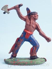 Brinquedos Antigos - Casablanca e Gulliver - Índio de pé com machado