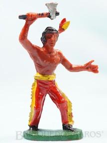 1. Brinquedos antigos - Casablanca e Gulliver - Índio de pé com machado Casablanca numerado 7