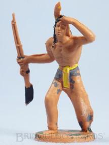 Brinquedos Antigos - Casablanca e Gulliver - Índio de pé com rifle Gulliver Década de 1970