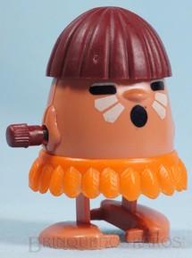 1. Brinquedos antigos - Trol - Indiozinho Mexe-Mexe Trol Índio com 5,50 cm de altura Década de 1980