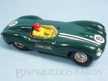 1. Brinquedos antigos - Scalextric - Jaguar D Type C60 Carro modelo do Jaguar Esporte Estrela Perfeito estado 100% original Ano 1963