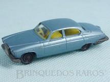 Brinquedos Antigos - Corgi Toys-Husky - Jaguar MK10 Husky azul metálico Década de 1960