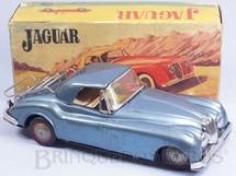 1. Brinquedos antigos - Metalma - Jaguar XK 120 1948 com 24,00 cm de comprimento  Década de 1960