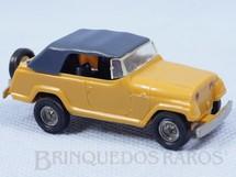 1. Brinquedos antigos - Lindberg - Jeep Jeepster com 7,00 cm de comprimento Década de 1970