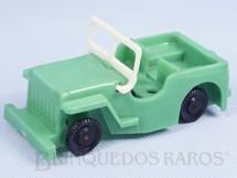 Brinquedos Antigos - Trol - Jeep Willys com 11,cm de comprimento D�cada de 1960