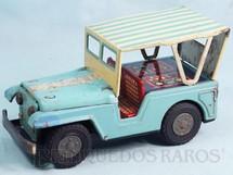 1. Brinquedos antigos - Estrela - Jeep Willys Passeio com 18,00 cm de comprimento Ano 1966