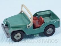 1. Brinquedos antigos - Corgi Toys-Husky - Jeep Willys verde Husky falta o motorista