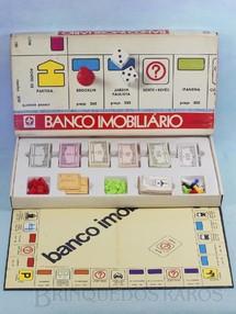 1. Brinquedos antigos - Estrela - Jogo Banco Imobiliário completo Ano 1980