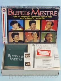 Brinquedos Antigos - Estrela - Jogo Blefe de Mestre completo Ano 1987