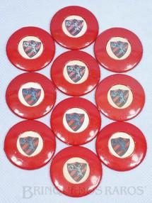 Brinquedos Antigos - Santa Maria - Jogo de Bot�o Futebol Miniatura com o time do Sport Club do Recife original Completo faltam a Trave e Goleiro D�cada de 1960