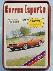 1. Brinquedos antigos - Grow - Jogo de Trunfo Carros Esportes Década de 1980
