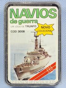 1. Brinquedos antigos - Grow - Jogo de Trunfo Navios de Guerra Década de 1980