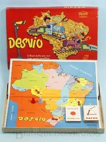 1. Brinquedos antigos - Coluna - Jogo Desvio Década de 1960