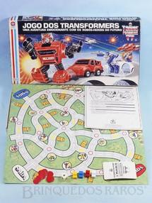 Brinquedos Antigos - Estrela - Jogo do Transformers Ano 1986