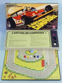 1. Brinquedos antigos - Estrela - Jogo Largada de Campeões Completo perfeito estado Ano 1980