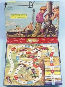 1. Brinquedos antigos - Coluna - Jogo O Petróleo é Nosso completo Década de 1960