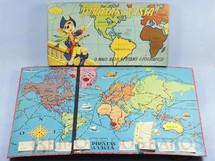 Brinquedos Antigos - Coluna - Jogo Piratas a Vista excelente estado Incompleto faltam 12 Cartas e a roleta D�cada de 1960
