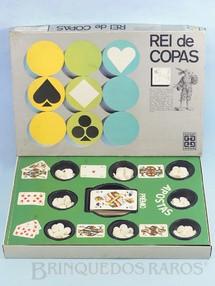 Brinquedos Antigos - Grow - Jogo Rei de Copas falta o Manual de Instruções Década de 1980