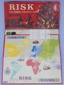 1. Brinquedos antigos - Parker - Jogo Risk versão inglesa do War Década de 1960