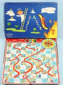 1. Brinquedos antigos - Coluna - Jogo Subir e Descer Década de 1960