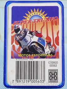 1. Brinquedos antigos - Grow - Jogo Super Trunfo Motos Esportivas Década de 1990