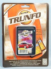 1. Brinquedos antigos - Grow - Jogo Super Trunfo Protótipos Blister Lacrado Década de 1990