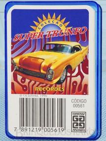 1. Brinquedos antigos - Grow - Jogo Super Trunfo Recordes Década de 1990