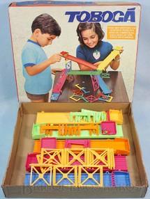 1. Brinquedos antigos - Atma - Jogo Tobogã Corrida Maluca completo com 6 Cápsulas Década de 1970