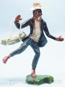 1. Brinquedos antigos - Casablanca e Gulliver - Kung Fu com bolsa 1ª Série base fixa Coleção Miguel Cerrato Década de 1970
