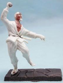 1. Brinquedos antigos - Casablanca e Gulliver - Kung Fu de Kimono 1ª Série base removível Coleção Miguel Cerrato Década de 1970