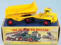 Brinquedos Antigos - Matchbox - KW Dart Dump Truck King Size