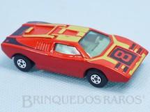 1. Brinquedos antigos - Matchbox - Lamborghini Countach Superfast vermelha numero 8 RESERVED***SR***