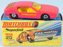Brinquedos Antigos - Matchbox - Lamborghini Marzal Superfast Transitional Weels salmão