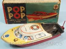 1. Brinquedos antigos - Estrela - Lancha Pop Pop original Ano 1962 a 1966