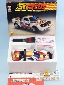 Brinquedos Antigos - Estrela - Lancia Stratus com 28,00 cm de comprimento Rádio Controle 27 Mhz Série Competição Ano 1980