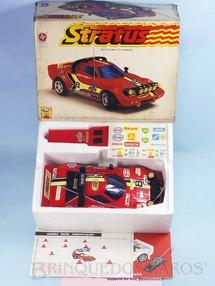 Brinquedos Antigos - Estrela - Lancia Stratus com 28,00 cm de comprimento Rádio Controle 40 Mhz Série Competição Ano 1980