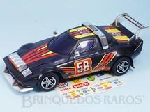 Brinquedos Antigos - Estrela - Lancia Stratus Turbo Rally com 28,00 cm de comprimento Sistema Bate e Volta Ano 1984