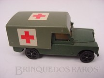 1. Brinquedos antigos - Corgi Toys-Corgi Jr. - Land Rover Army Ambulance Whizzwheels Corgi Jr