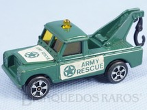 1. Brinquedos antigos - Corgi Toys-Kiko - Land Rover Wrecker Army Rescue Brazilian Corgi Jr Kiko Década de 1980