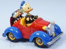 Brinquedos Antigos - Politoys e Polistil - Le Auto di Paperino Carro do Pato Donald 8,5 cm de comprimento Walt Disney Politoys D�cada de 1970